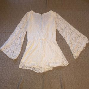 Free people lace romper